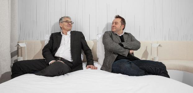 Olivier Devys, l'entrepreneur, et Patrick Norguet, le designer.