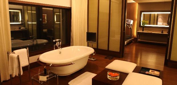 Salle-de-bains de la suite Kohinoor