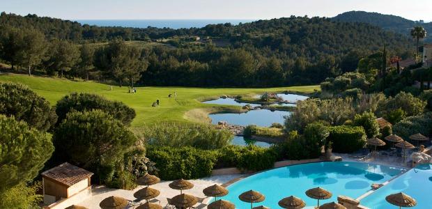 Le golf de Dolce FrA�gate Provence, un 18 trous et un 9 trous.