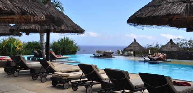 La piscine du Palm