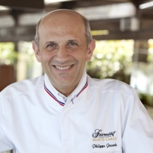Philippe Joannes, MOF et chef de cuisine du Fairmont Monte Carlo.