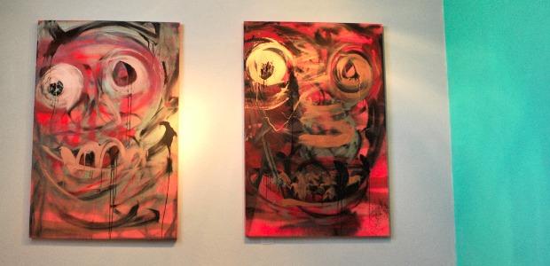 Mario Benjamin à la galerie Monnin.